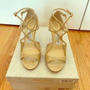 Jimmy Choo Lang in Nude Size 36